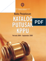Katalog Putusan KPPU 2009