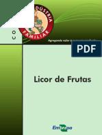 Licor de frutas