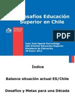 Desafíos Educación Superior en Chile - JJ Ugarte - Mineduc