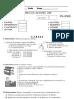 examen de diagnostico 6to