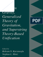 Quantum Gravity, Generalized Theory of Gravitation, And Super String Theory-Based Unification - Mintz,Perlmutter