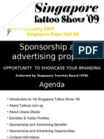 Singapore Tattoo Show 2009 Sponsorship Options 08 aug-08