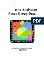 Analyzing Foucs Group Data