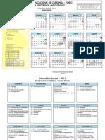 Calendário 2011 Ensino Médio SRE 1