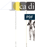 CADI#1 Jan. 2008 research journal from l'Ecole de design Nantes Atlantique