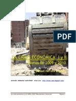 La Crisis Economica. 2009-2010 (I y II)