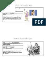 Identificação dos principais deuses gregos