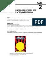 História da Cultura Afro-brasileira aula 2