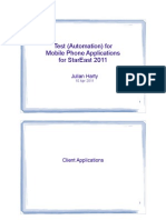 Chapter 5 Test Automation for Mobile Phone Applications Client Applications (10 Apr 2011)