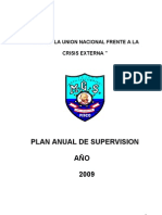 Plan Anual de Supervision Educativa Miguel Grau 2009