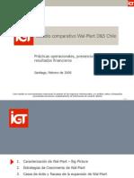 Estudio Comparativo Wal-Mart D&S Chile