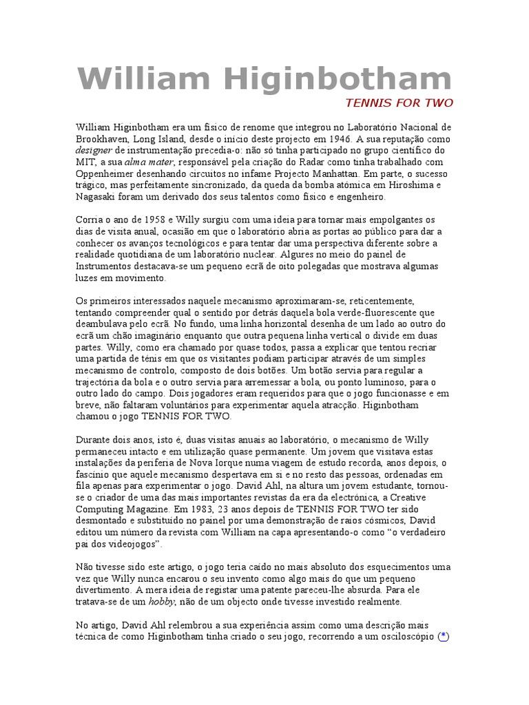 Historia Dos Jogos Eletronicos da2684fac4