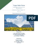 FNR 425 Environmental Assessment