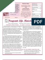 Calvary Chapel Reno-Sparks Women's Newsletter May-June 2011
