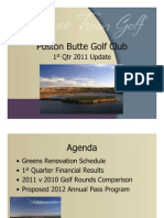 2011 First Quarter Poston Butte Update