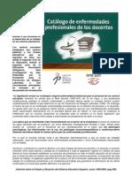 ENFERMEDADES PROFESIONALES EN LOS DOCENTES