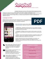 Ohmydeal - Communiqué de presse lancement application iPhone