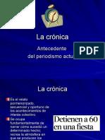 La crónica (segunda parte)