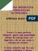 MEDICINA PREVENTIVA ORTOMOLECULAR NUTROLOGIA