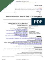 Instalando Apache 2.2.2, PHP 5.1.4, MySQL 5.0.22 e phpMyAdmin 2.8.1 no - iMasters Fóruns