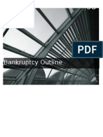 Bankruptcy Outline
