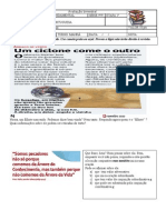 Prova Português - 9º ano