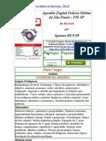 Apostila Concurso PM SP Policia Militar de Sao Paulo Gratis Baixar Download 2009 2010