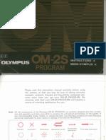 Olympus OM-2s Camera owner's manual