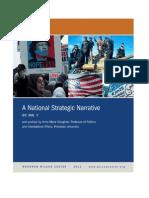 A National Strategic Narrative by Mr. Y