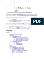 Normalización BDR