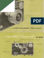 Argus C-3 camera owner's manual