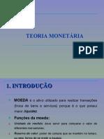 Teoria monetária
