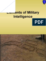 071F1311 Military Intelligence