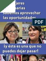 1000 Mujeres Brochure Baja