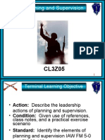 071F1393 Planning & Supervision