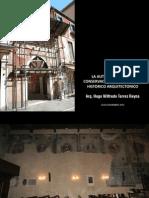 LA AUTENTICIDAD EN LA CONSERVACION DEL PATRIMONIO HISTORICO ARQUITECTONICO