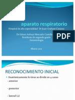 Valoración clínica del aparato respiratorio