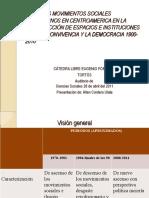 Los Movimientos Sociales subalternos en C.A. en la construcción de espacios e instituciones para la convivencia y la democracia 1900-2010