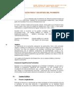 4.- Evaluación Física y de Estado del Pavimento