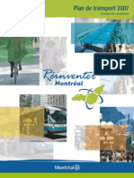 Montreal Plan de Transport