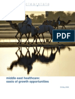 Healthcare in the middle east