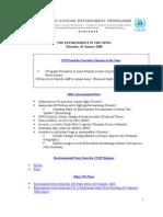 United Nation Environment Programme - UBS Global Warming Index - Ilija Murisic - -Jan 08