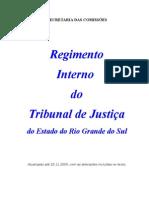 Regimento Interno do Tribunal de Justiça - anexo Res  1-98