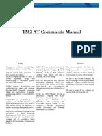 Modem USB G10 at Commands