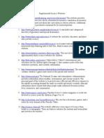 Supplemental Websites