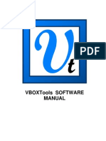 VBOXTools Software Manual - English