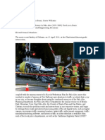 Palo Alto (CA) Traffic Accident History Use In Public Policy Making