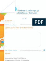 Lai Lau - Platform Landscape for Mobile Application Development