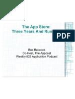 Bob Babcock - App Store Trends