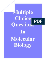 Multiple Choice Questions in Molecular Biology